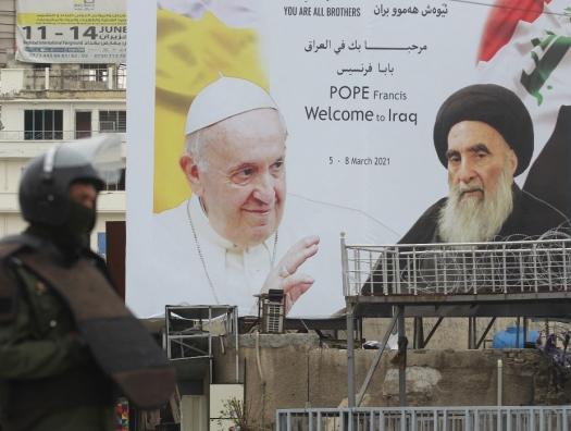 Папа пришел к лидеру шиизма за мессой