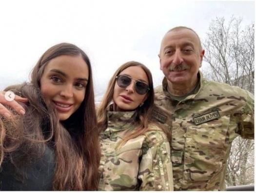 Мехрибан Алиева: «Президент заложил дорогу Физули-Гадрут»