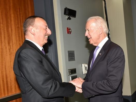 Джо Байден написал Ильхаму Алиеву: «Мы поддерживаем ваши усилия»