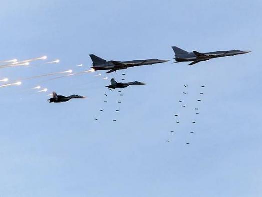 Российская авиация бомбит Идлиб, а российского посла вызвали в МИД Турции