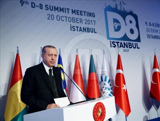 Эрдоган вдохнул жизнь и в «Исламскую восьмерку»