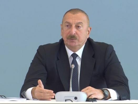 Ильхам Алиев: Азербайджан готов подписать мирное соглашение с Арменией по Карабаху