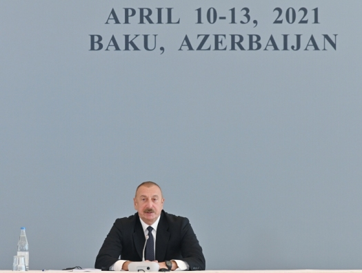 Ильхам Алиев: «Разрушена древняя часть Еревана, где жили мои предки»