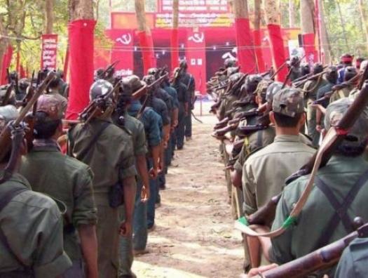 Бунт наксалитов против государства