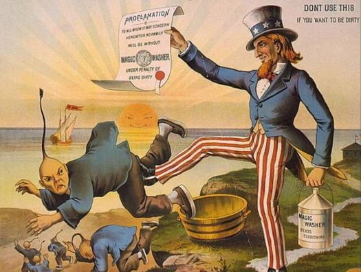 «Бей китайца – спасай Америку»