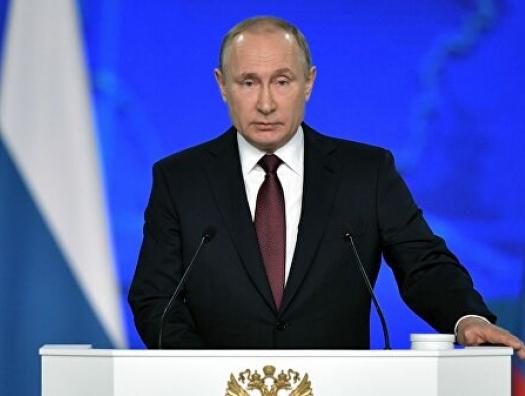 Владимир Путин о Нагорном Карабахе в послании Федеральному Собранию
