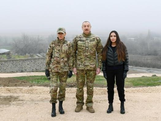 Ильхам и Мехрибан Алиевы посетили Джебраил и Зангилан