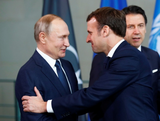 Провокация Макрона и Пашиняна против Путина