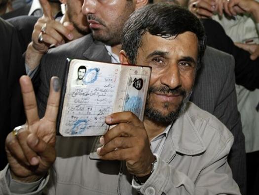 Ахмадинежад пошел на власть, как «иранский Ельцин»