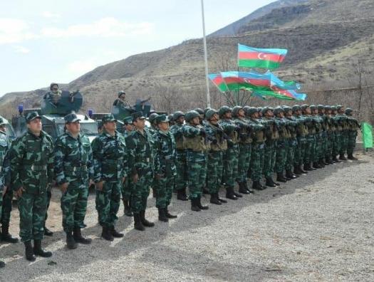 Азербайджан о выдвижении своих пограничников на границе с Арменией