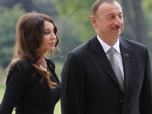 Алиевы посетили албанскую церковь в Габале