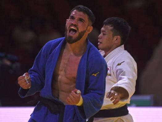 Азербайджанский дзюдоист сенсационно победил японца, а затем стал призером чемпионата мира