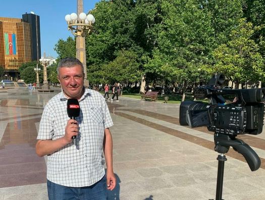 Шахин Рзаев ушел с армянскими журналистами
