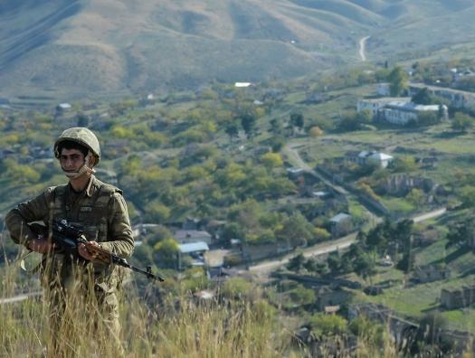Армяне забрели на территорию Азербайджана.  Но их вернули