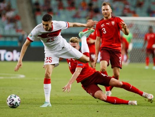 Третий матч Евро-2020 в Баку: Швейцария уверенно обыгрывает Турцию
