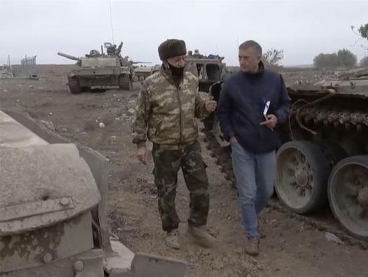 Немецкие журналисты хотят тайно проникнуть в Карабах