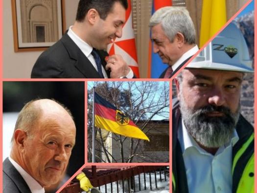 Посольство Германии в Баку покрывает коррупционную схему немецких бизнесменов с Саргсяном?