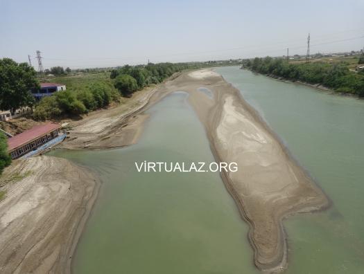 Каспий снова пошёл на Куру: Нефтчала осталась без воды