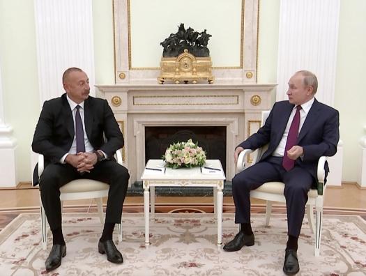 Ильхам Алиев назвал Россию близким другом