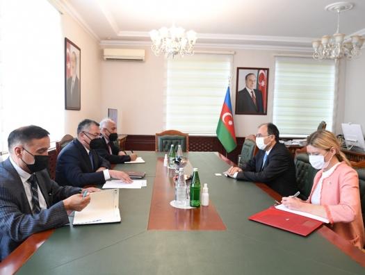 Ровшан Рзаев рассказал турецкому послу о возвращении беженцев в Карабах