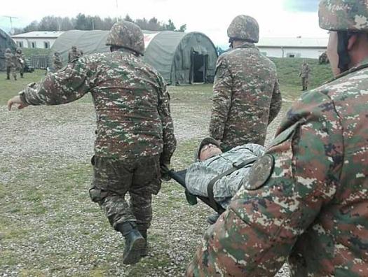 Армянские подразделения несут потери в Зангезуре