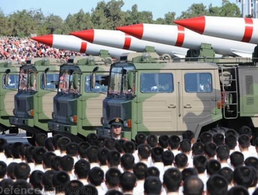 Китай резко наращивает ядерную мощь