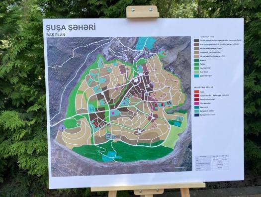 Обнародованы детали генплана города Шуша