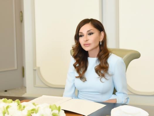 Мехрибан Алиева поздравила победителей конкурса Yüksəliş