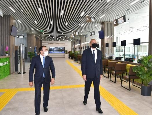 Ильхам Алиев на открытии Центра ASAN Xidmət в Баку