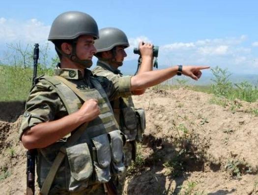 Ни слова об азербайджанской армии