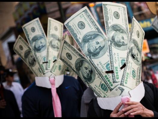 Вот такой парадокс: чем выше госдолг, тем сильнее доллар