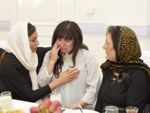 Взгляд Мехрибан Алиевой, который мы не забудем