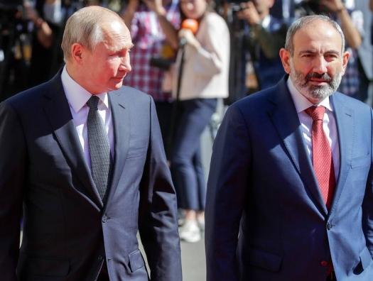 """Пашинян для Путина - """"чужой свой"""". А придет ли в Ереване """"свой""""?"""