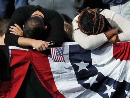 Слезы Америки, которые появляются из ниоткуда и исчезают в никуда