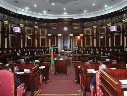 Судебное решение, которое нарушило первую часть статьи 60 Конституции Азербайджана