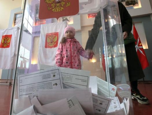 Российские выборы как всенародный урок рисования