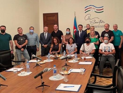 Хикмет Гаджиев встретился с грузинскими журналистами и блогерами