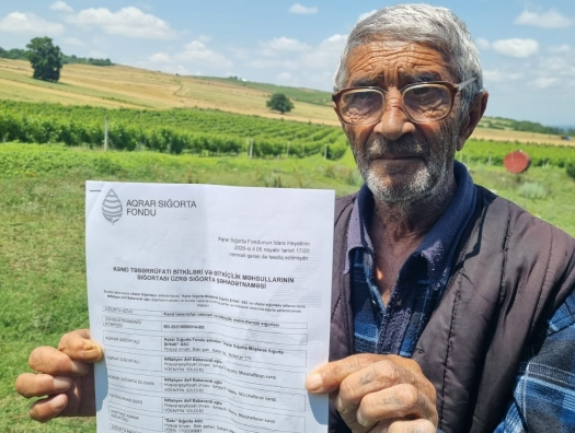 Впервые в Азербайджане! Государство заплатило гражданину за град