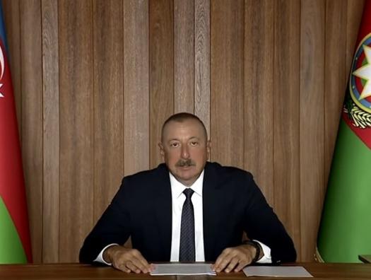 Ильхам Алиев выступает на Генассамблее ООН