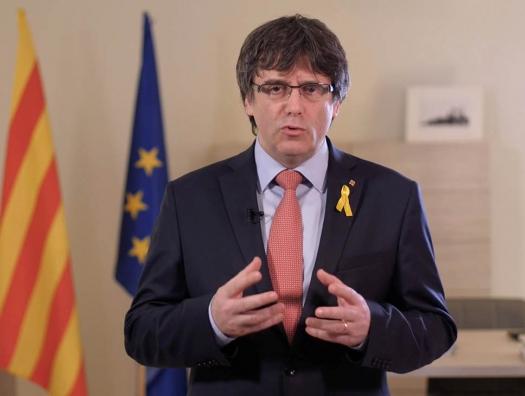 Экс-главу Каталонии арестовали в Италии