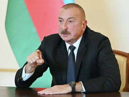Ильхам Алиев: «Азербайджан готов начать переговоры по мирному соглашению с Арменией»