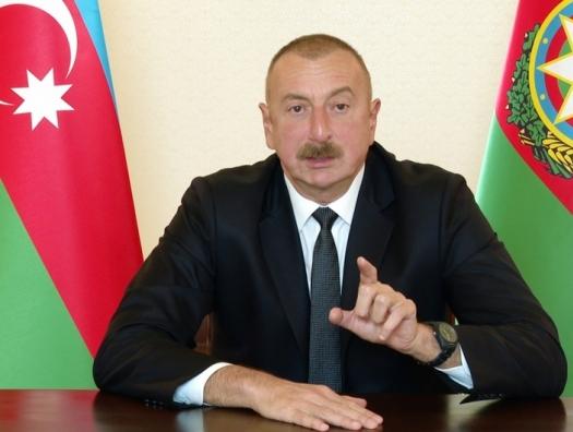 """Ильхам Алиев призвал страны мира не использовать название """"Нагорный Карабах"""""""