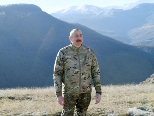 Ильхам Алиев рассказал, когда граждане вернутся в Шушу