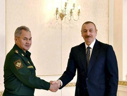 Ильхам Алиев заявил, что армяне оболгали Шойгу