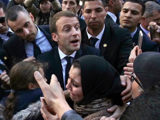 Макрон и с Алжиром Макрон: что ни слово, то скандал