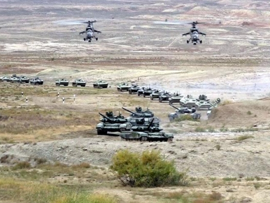Азербайджан начал военные учения в Лачине