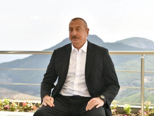Ильхам Алиев о переговорах с Арменией в Москве