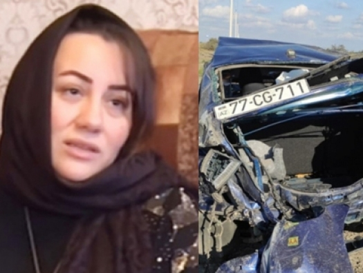 Авария, которая потрясла весь Азербайджан: в годовщину смерти героя Карабаха погибла и его супруга. Трое детей остались без родителей