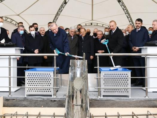 Алиев и Эрдоган заложили фундамент Зангезурского коридора
