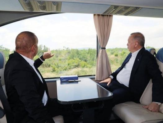 Алиев и Эрдоган заглянули в «Умное село»